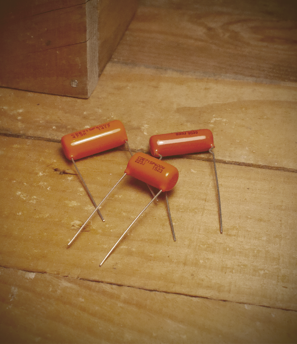 Condensadores Orange Drop
